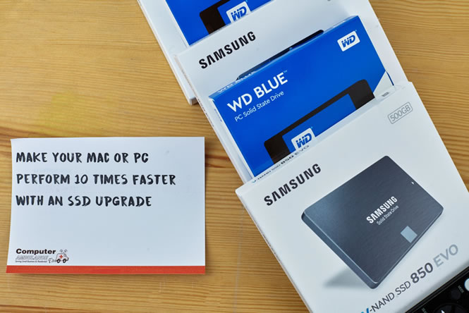Give your iMac or MacBook a New Lease of Life with our SSD Upgrade Service